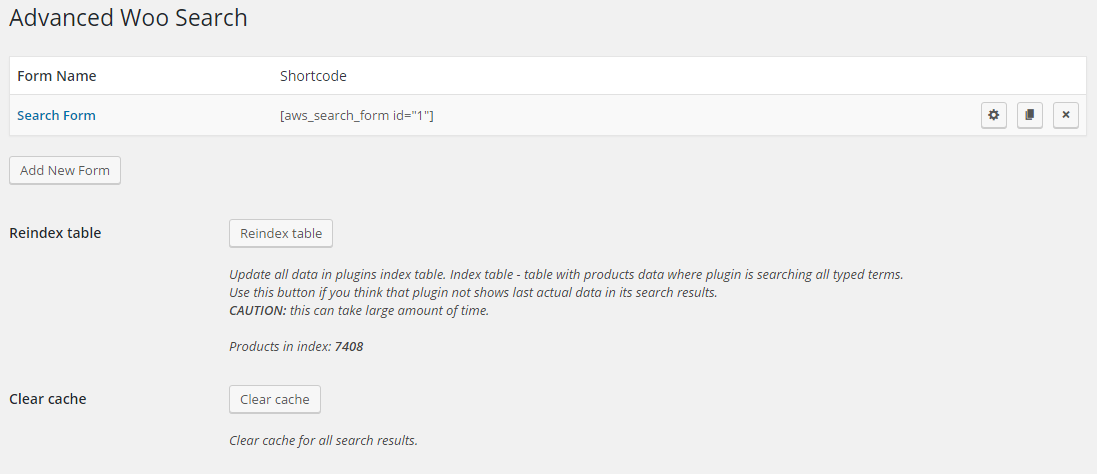Advanced Woo Search - Documentation